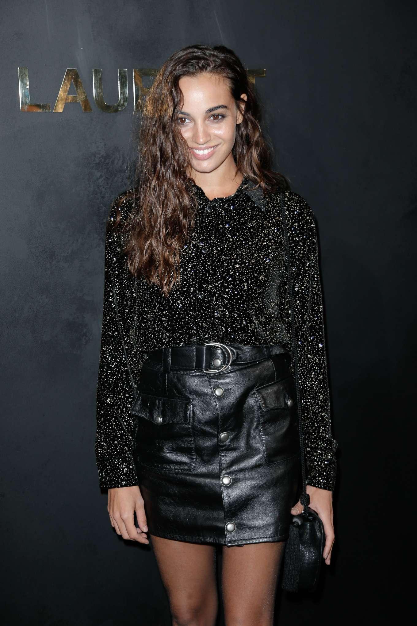 Souheila Yacoub - Saint Laurent Womenswear SS 2020 Show at Paris Fashion Week