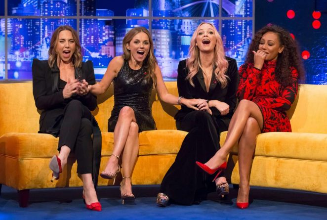 Spice Girls – Jonathan Ross Show in London