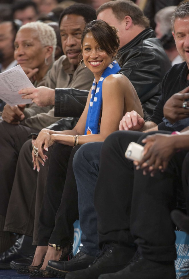 Stacey Dash - New York Knicks vs. Orlando Magic in NY