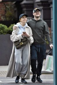 Stacey Dooley and her boyfriend Kevin Clifton - Out in Notting Hill