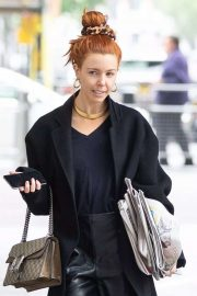Stacey Dooley - Arrives at The Andrew Marr Show in London