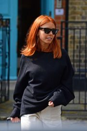 Stacey Dooley - Out and about in London