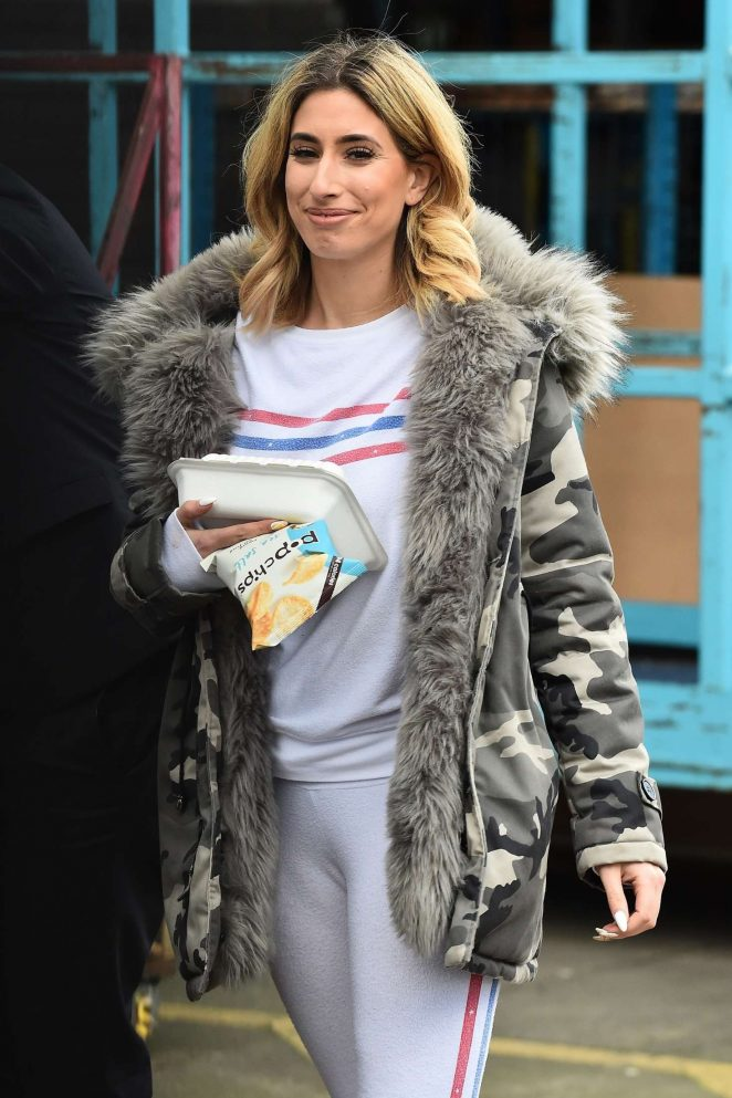 Stacey Solomon at The ITV Studios in London