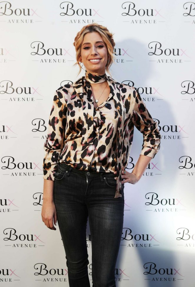 Stacey Solomon - Boux Avenue Spring Summer 2017 Launch in London