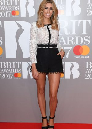 Stacey Solomon - BRIT Awards 2017 in London