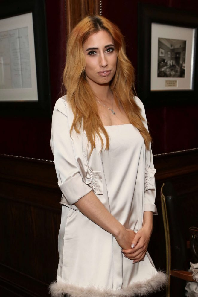 Stacey Solomon - The Wristband Diaries Book Launch Party in London