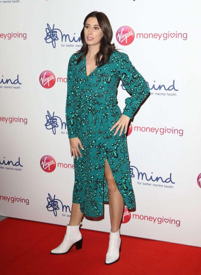 Stacey Solomon - Virgin Money Giving 'Mind Media' Awards in London