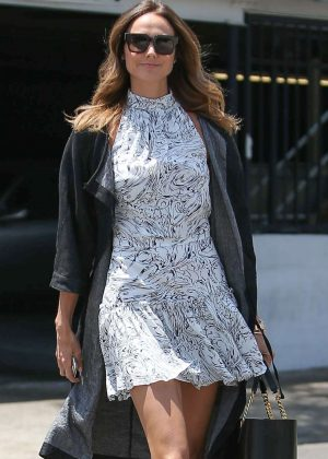 Stacy Keibler - Arrives at Gracias Madre in West Hollywood