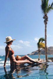 Stacy Keibler in Bikini - Personal Pics