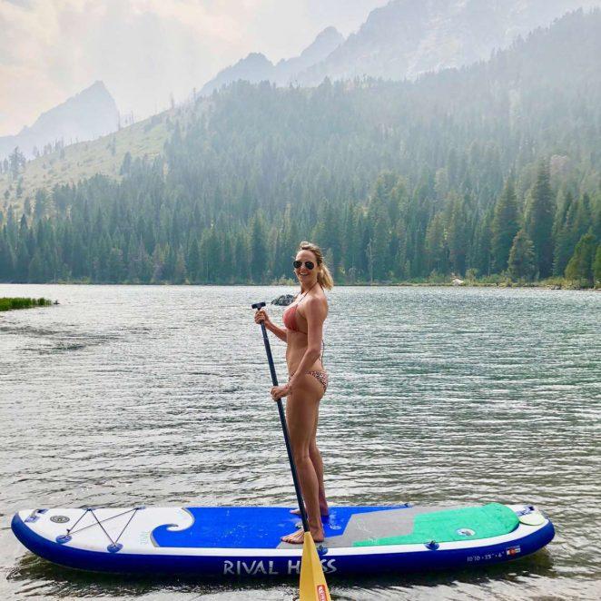 Stacy Keibler in Bikini – Personal Pics