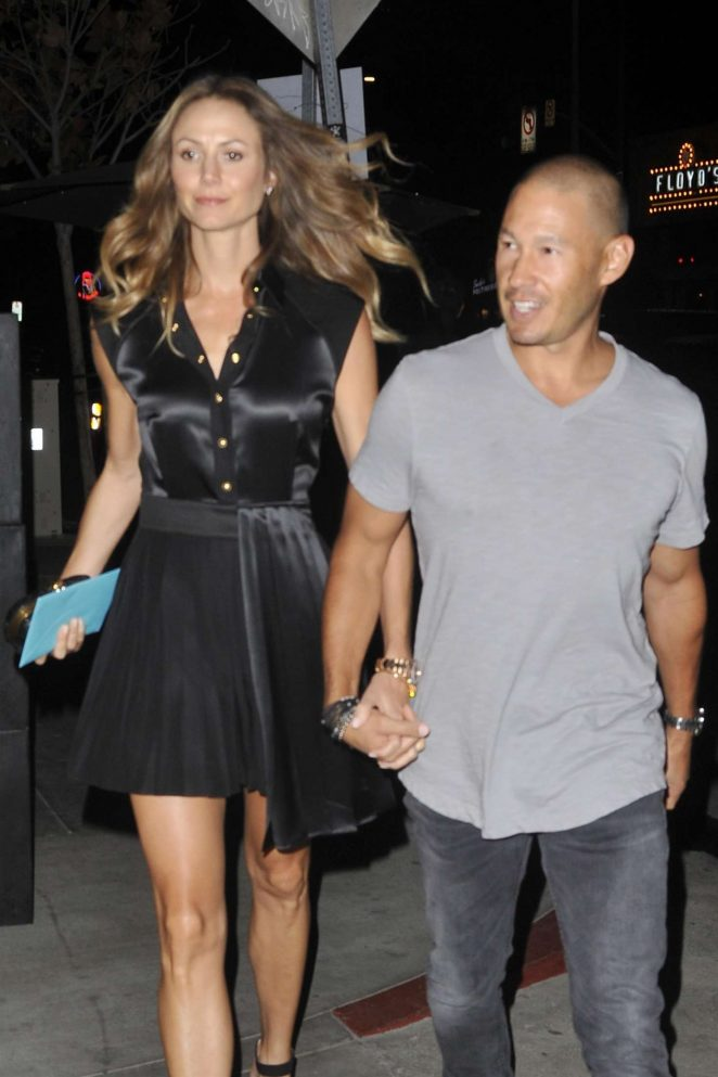 Stacy Keibler - Leaving the Dream Hotel in LA