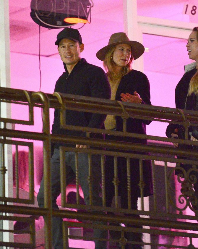 Stacy Keibler – Night out in Los Angeles