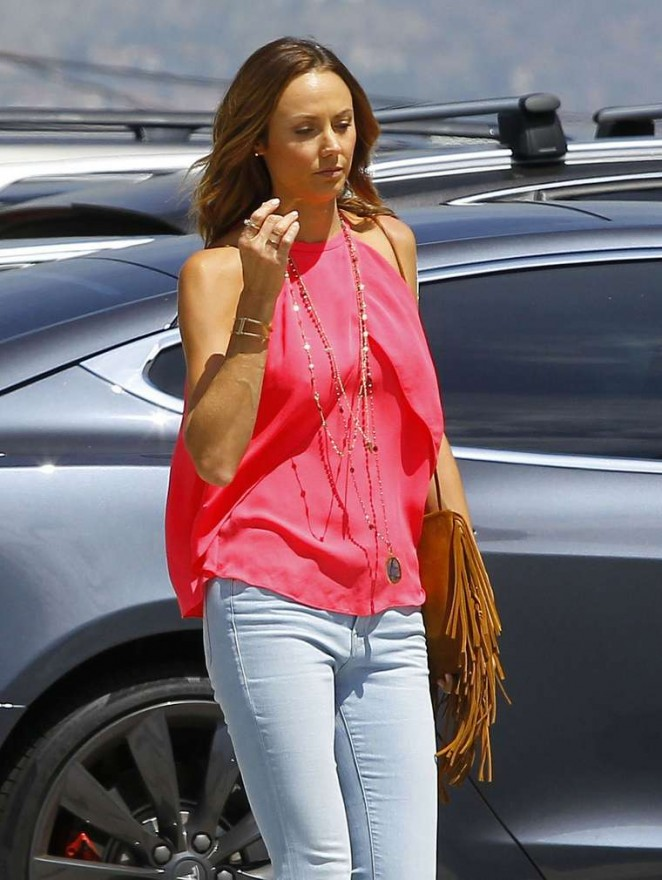Stacy Keibler – Out and about in Burbank