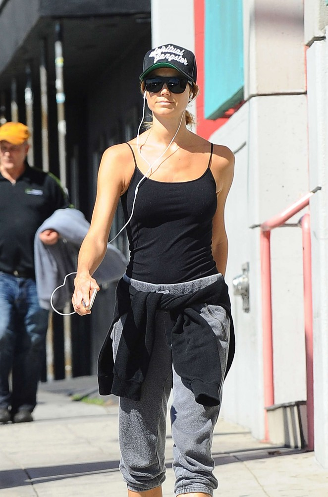 Stacy Keibler Out in LA