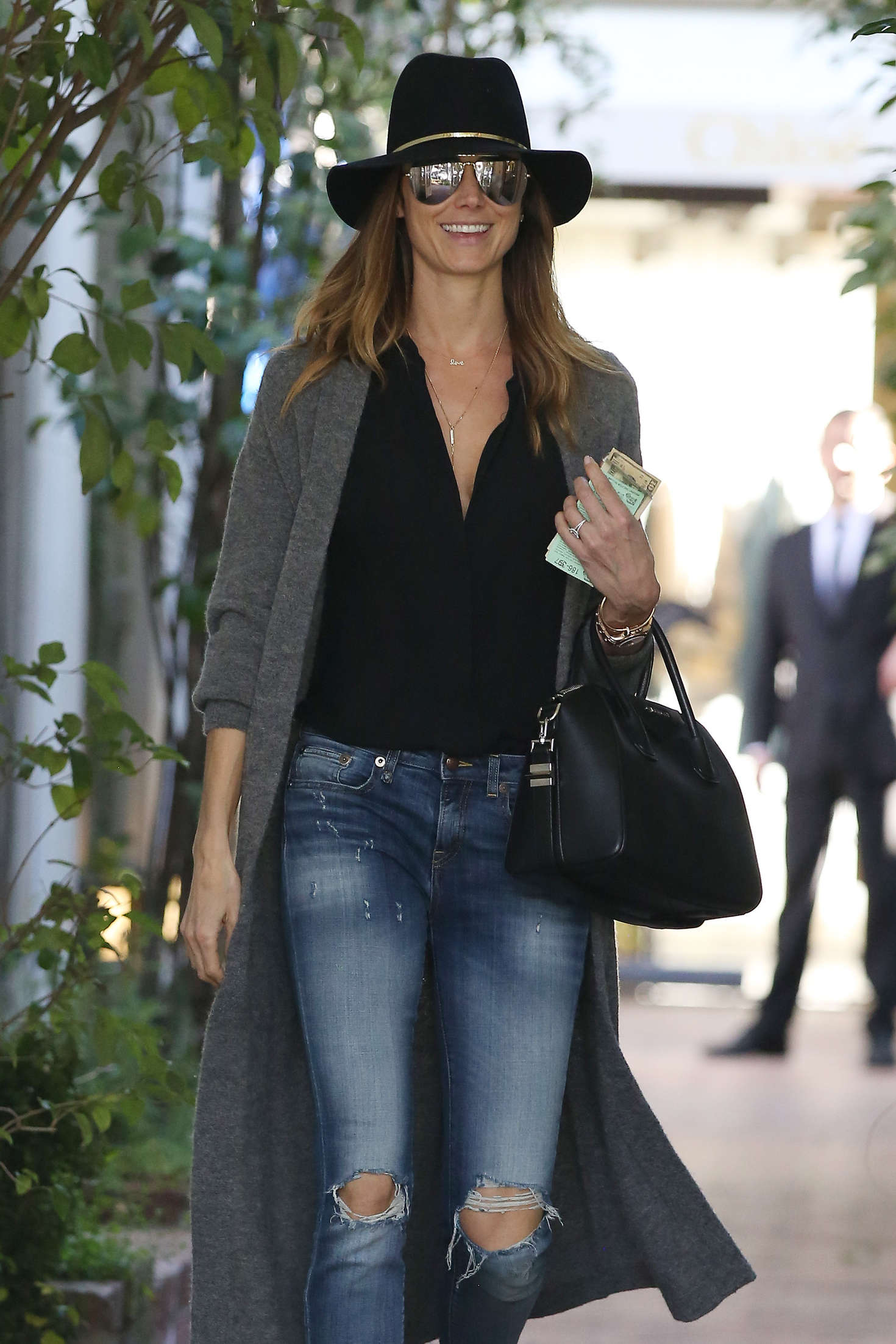 Stacy Keibler - Shopping on Melrose Place in Los Angeles