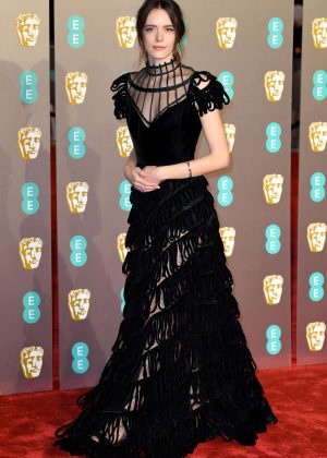 Stacy Martin - 2019 British Academy Film Awards in London