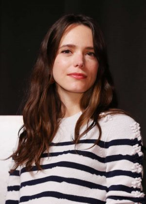 Stacy Martin - 'Le Redoutable' Press Conference in Tokyo