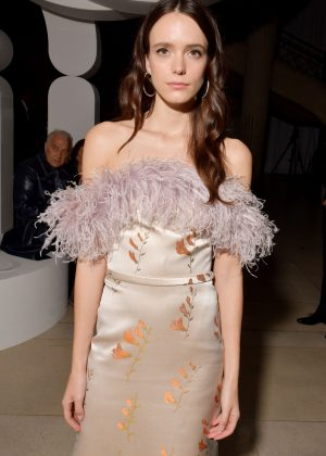 Stacy Martin - Miu Miu Fashion Show in Paris