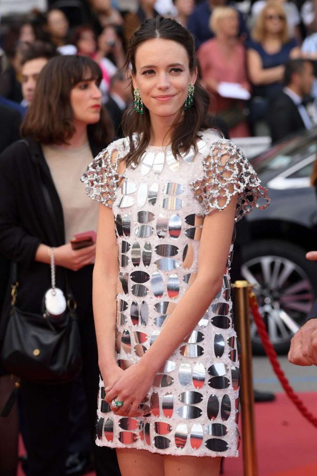 Stacy Martin - 'Oh Mercy!' Premiere at 2019 Cannes Film Festival