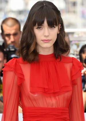 Stacy Martin - 'Redoutable' Photocall at 70th Cannes Film Festival