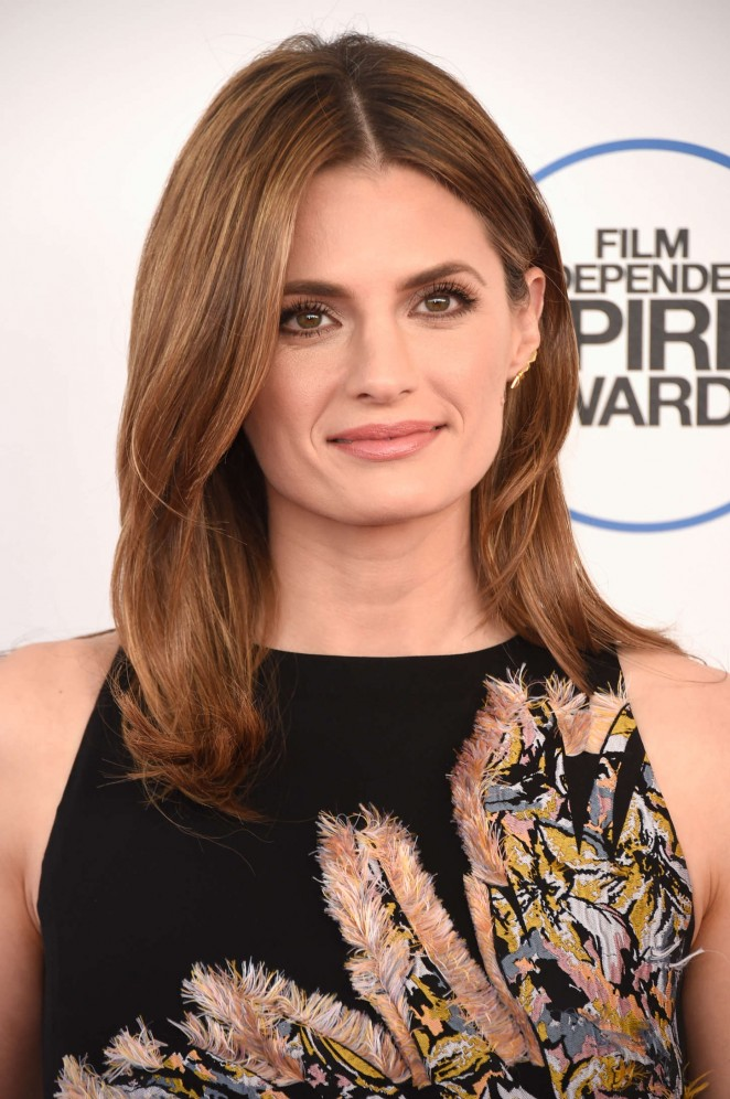 Stana Katic - 2015 Film Independent Spirit Awards in Santa Monica
