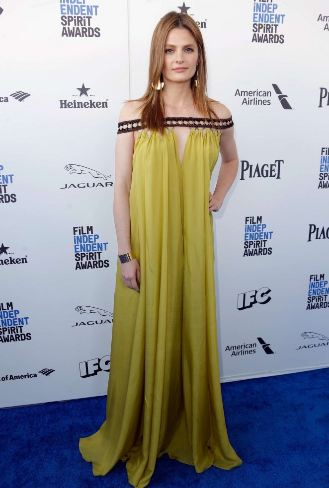 Stana Katic - 2016 Film Independent Spirit Awards in Santa Monica