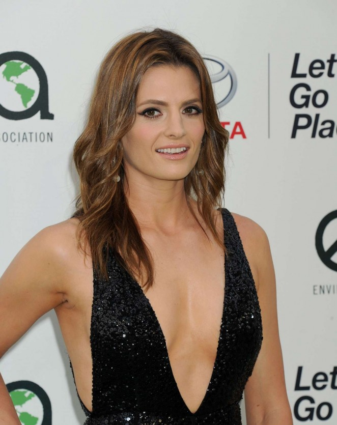 Stana Katic - 2015 EMA Awards in Burbank