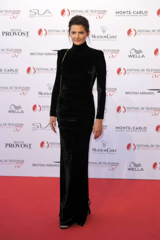Stana Katic - 57th Monte-Carlo Television Oopening Ceremony
