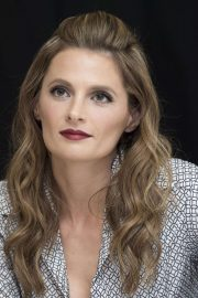 Stana Katic - 'Absentia' Press Conference in Los Angeles