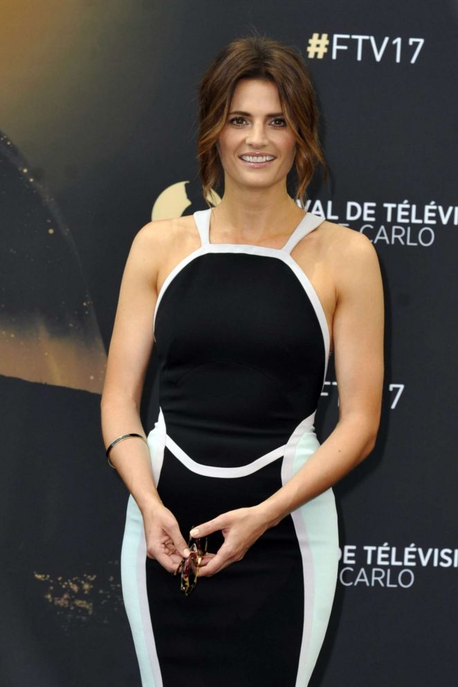 Stana Katic at 2017 Monte-Carlo Television Festival