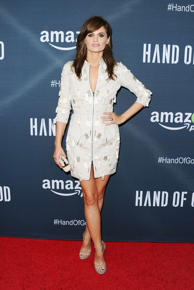 Stana Katic - 'Hand of God' Screening in LA