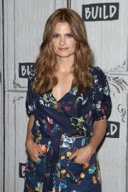 Stana Katic - On Build Studio to discuss 'Absentia' in New York City