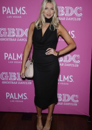 Stassi Schroeder - Party to DJ Mike Shay at Ghostbar Dayclub inside Palms in Las Vegas