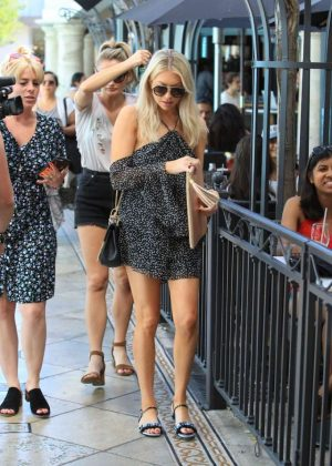 Stassi Schroeder- Shopping at The Grove in Hollywood