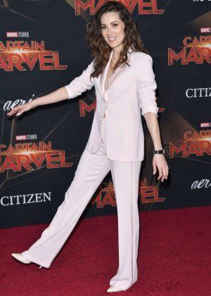 Stefania Spampinato - 'Captain Marvel' Premiere in Los Angeles