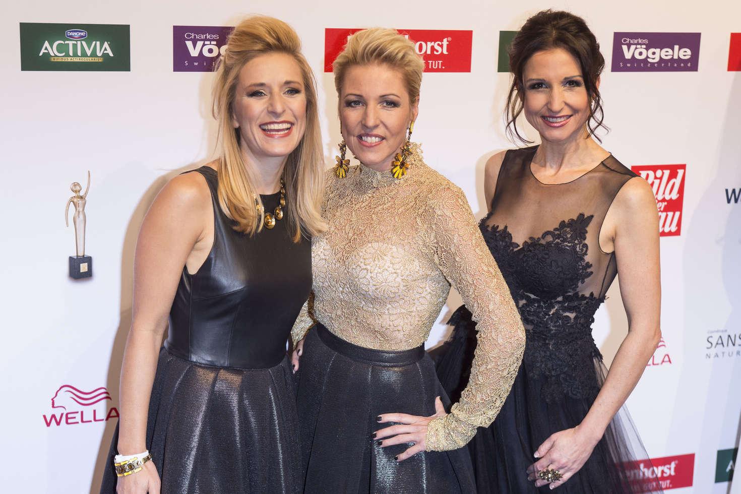 Stefanie Hertel Alexandra Geiger and Anita Hofmann: Die Goldene Bild der Frau Awards 2016