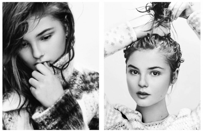 Stefanie Scott: Schon Magazine 2016 -04