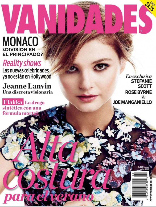 Stefanie Scott - Vanidades Magazine (July 2015)