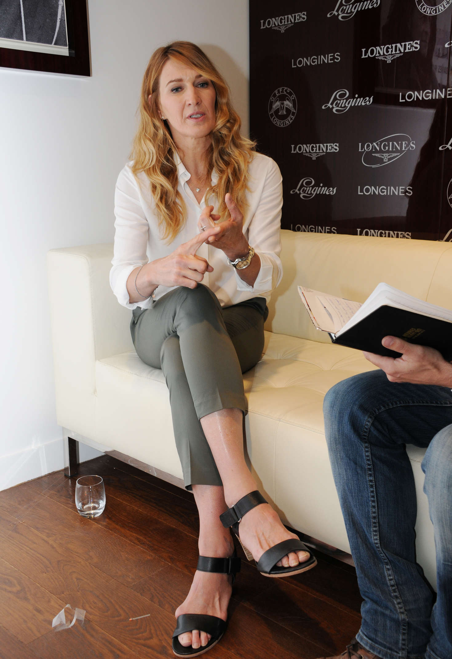 Steffi Graf at the Boutique Longines 01 GotCeleb