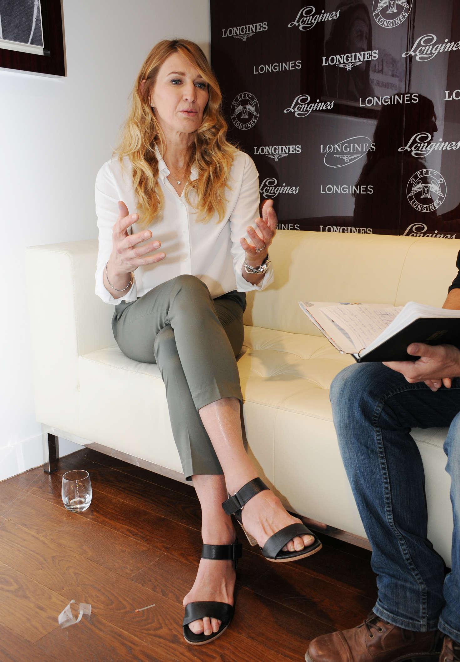 Steffi Graf at the Boutique Longines 06 GotCeleb
