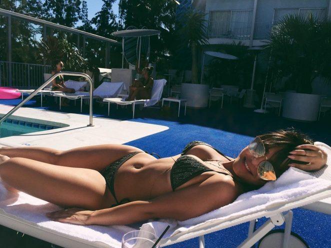 Stella Hudgens in Bikini - Social Media Pics