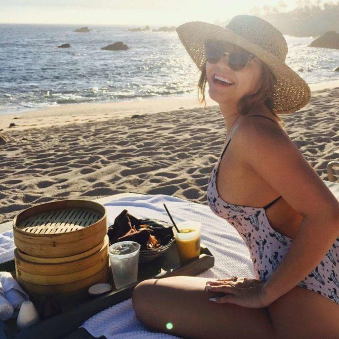 Stella Hudgens in Swimsuit - Social Media Photos