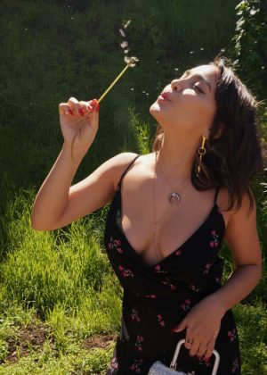 Stella Hudgens - 'Ooh La Luxe!' Blog Shoot (March 2018)