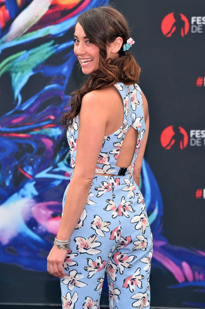 Stella Maeve - The Bold & the Beautiful Photocall at 56th Television Festival in Monte Carlo