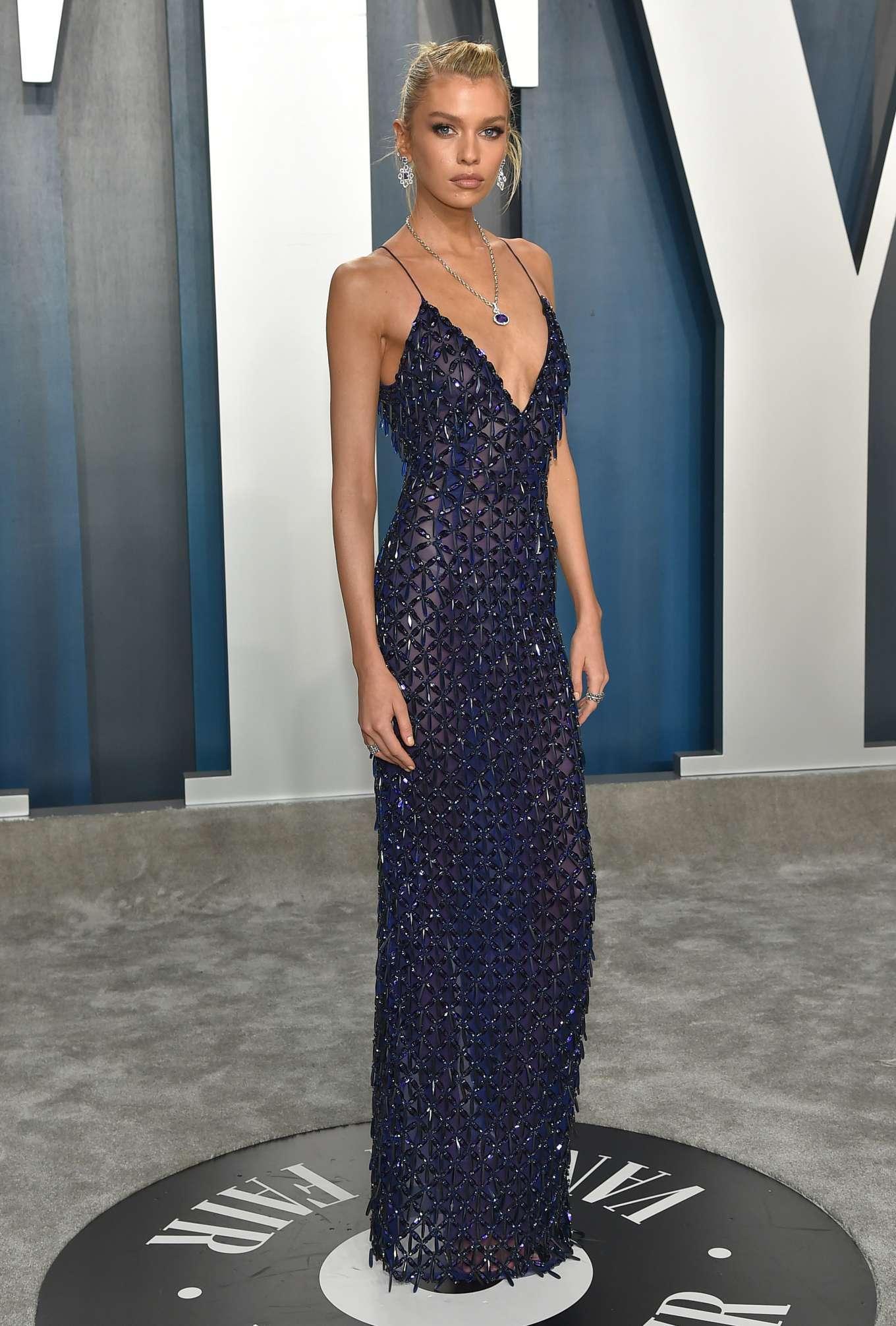 Stella Maxwell - 2020 Vanity Fair Oscar Party in Beverly Hills