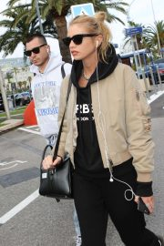 Stella Maxwell - Arrives at Nice Airport in Cannes