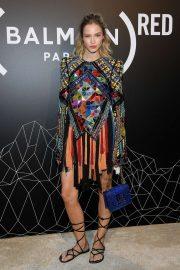 Stella Maxwell - Balmain Homme Menswear SS 2020 Show in Paris