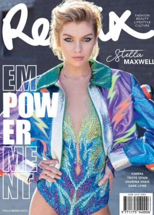 Stella Maxwell for Remix Magazine (April 2018)
