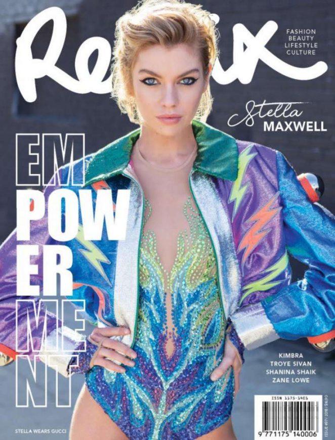 Stella Maxwell for Remix Magazine (April 2018)