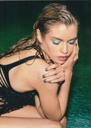 Stella Maxwell - Glamour UK Magazine (January 2016)